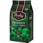 Кава в зернах  Paulig Presidentti Original Strong  1кг